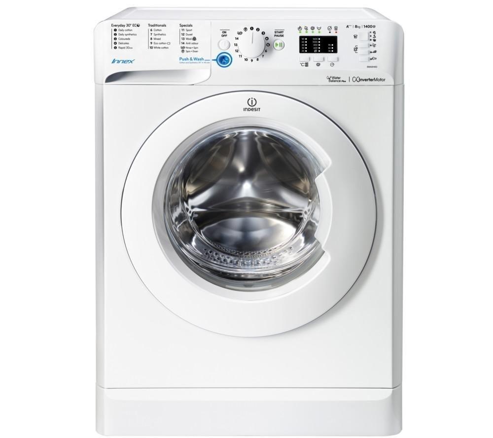 Indesit BWA81483XW 8kg 1400rpm Washing Machine