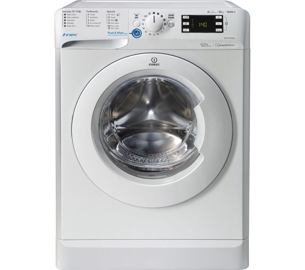 Indesit BWE101684XW 10kg 1600rpm Washing Machine