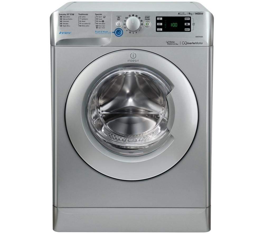Indesit BWE91484XS 9kg 1400rpm Washing Machine