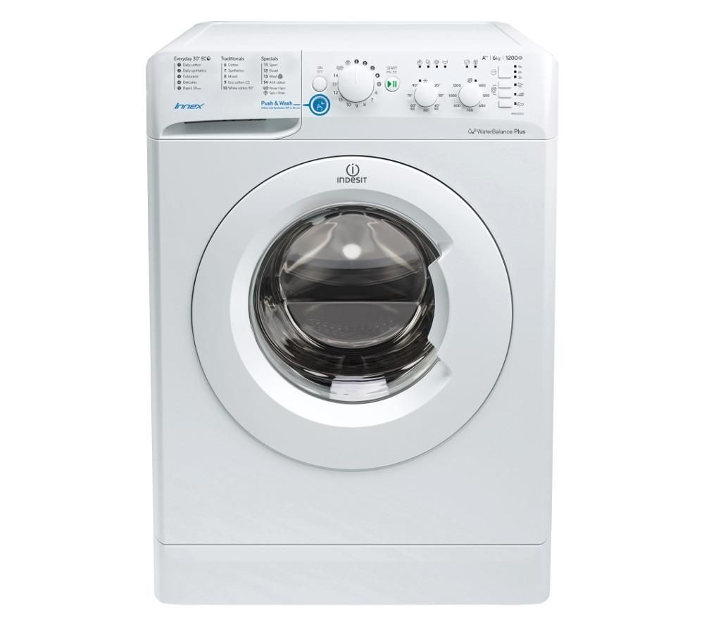 Indesit BWSC61252W 6kg 1200rpm Washing Machine