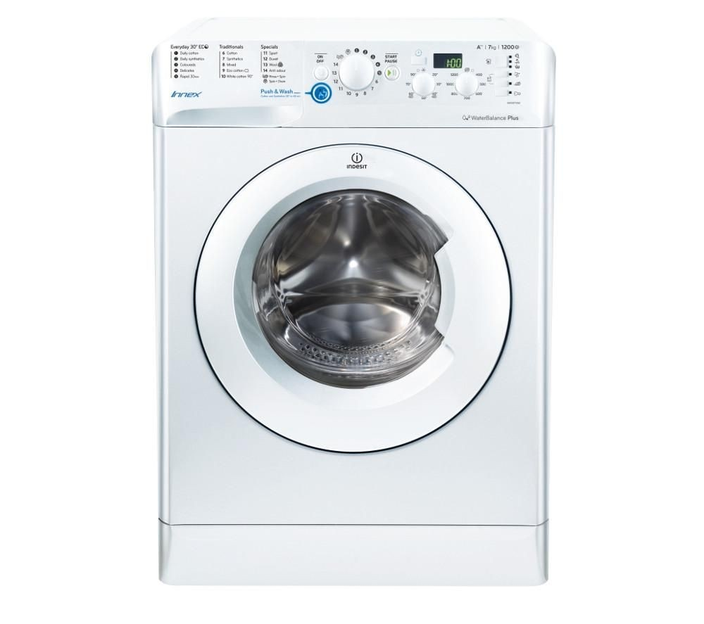 Indesit BWSD71252W 7kg 1200rpm Washing Machine