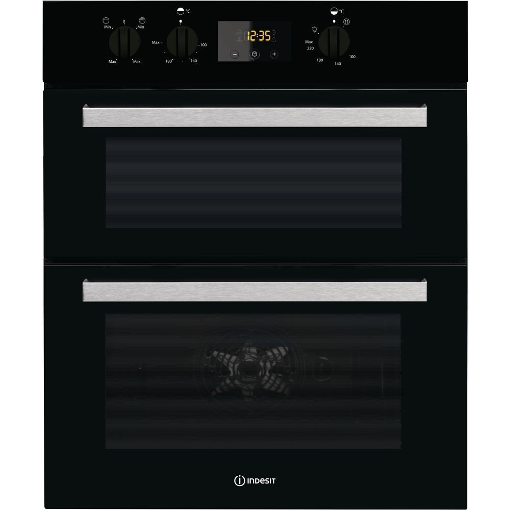 Indesit IDU6340BL Double Oven