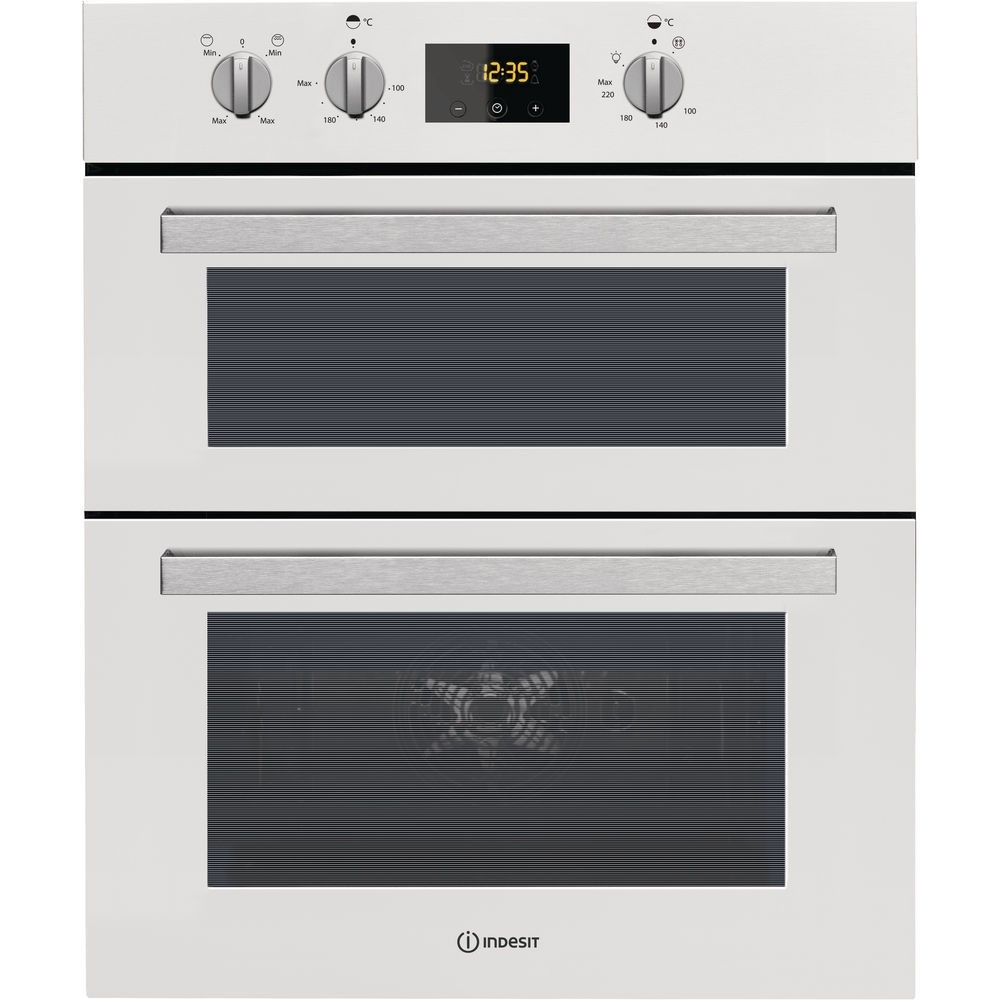 Indesit IDU6340WH Double Oven
