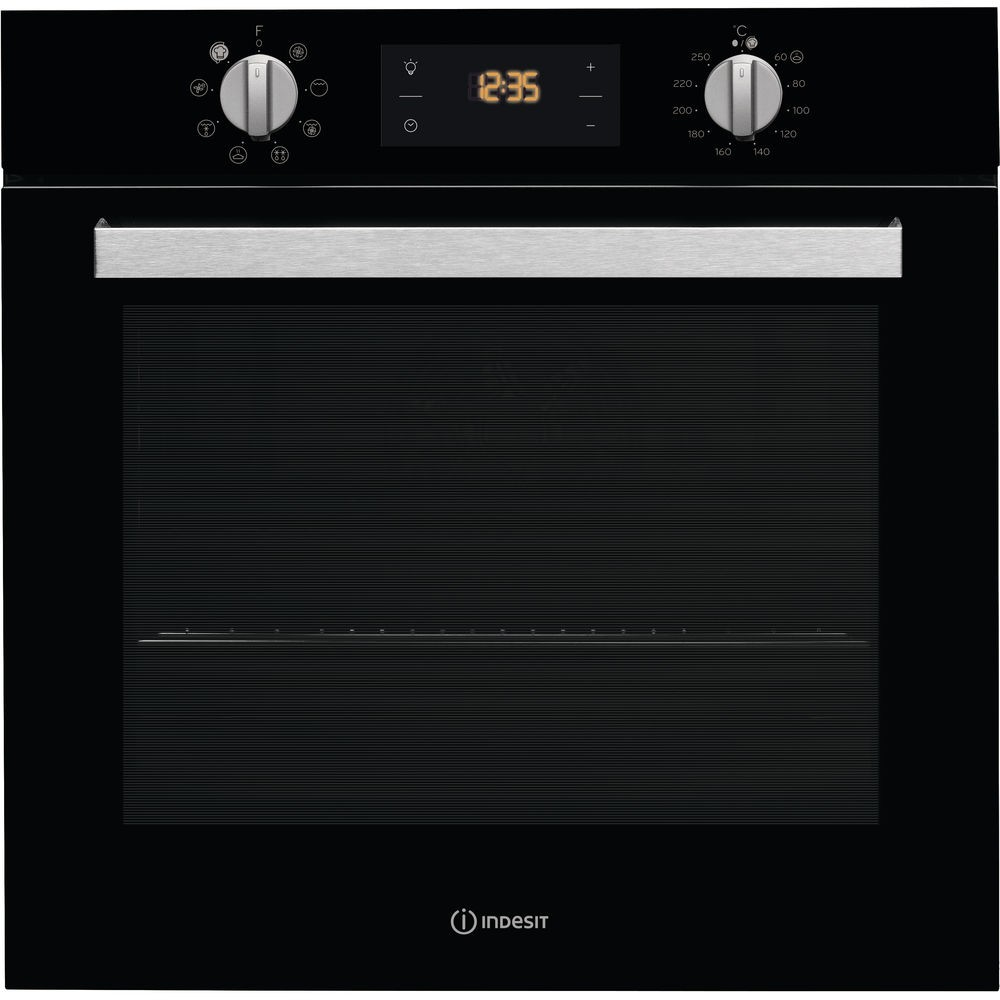 Indesit IFW6340BL Single Oven