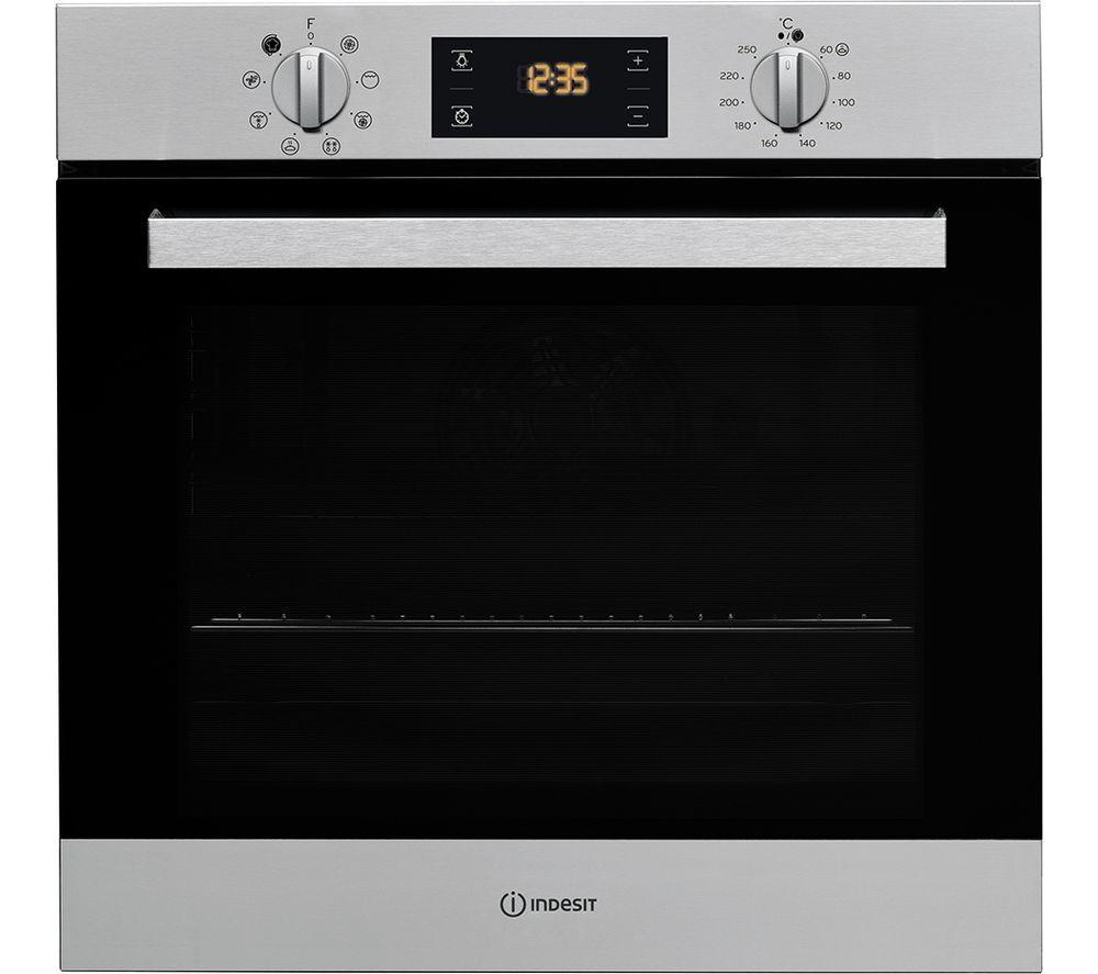 Indesit IFW6340IX Single Oven