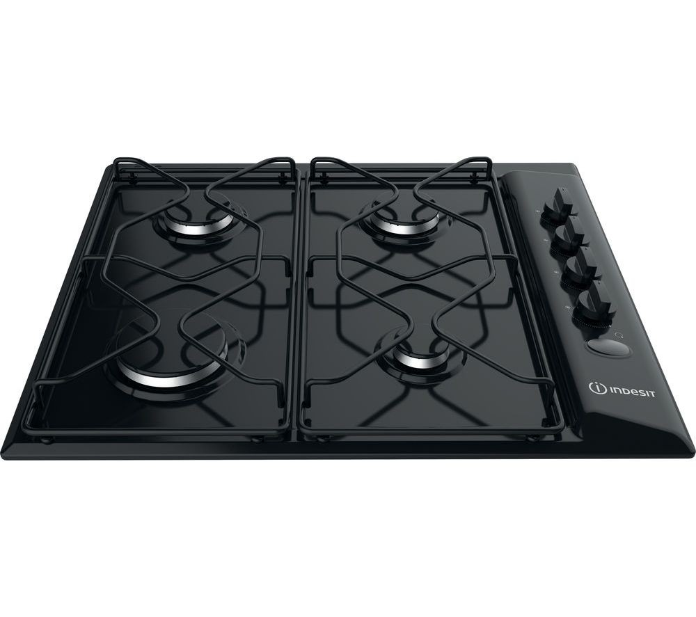 Indesit PAA642IBK Gas Hob