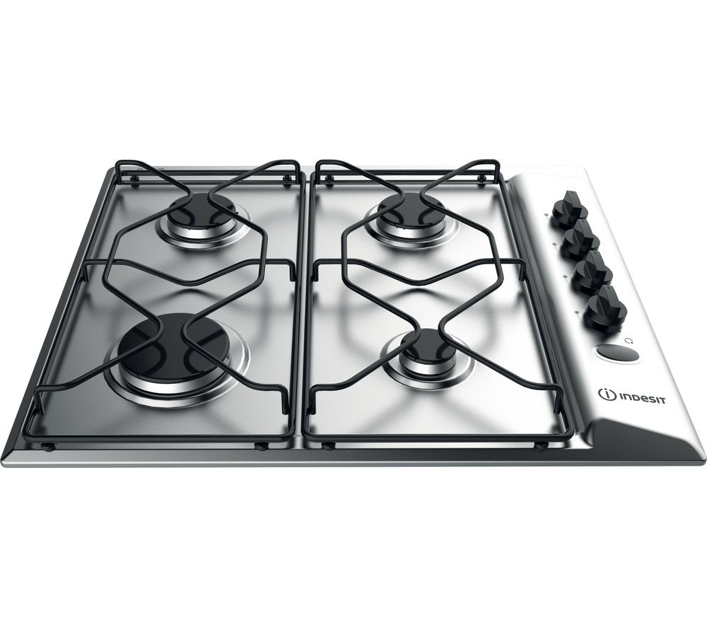 Indesit PAA642IXI Gas Hob | Clocktower - Your Domestic Appliance ...