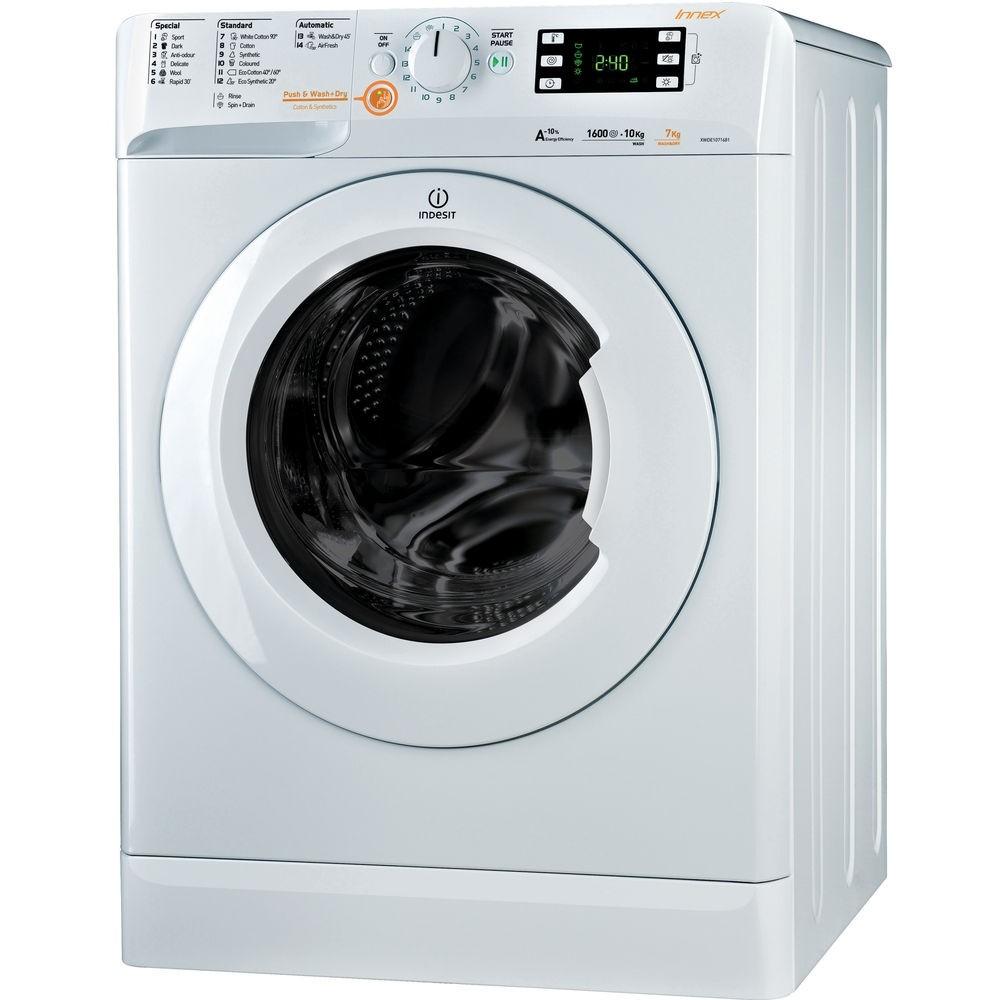 Indesit XWDE1071681XW 10kg/7kg 1600rpm Washer-Dryer