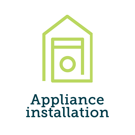 Installation - integrated tumble dryer