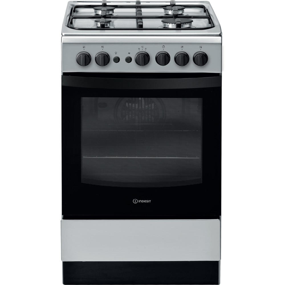 Indesit IS5G1PMSS Gas Cooker