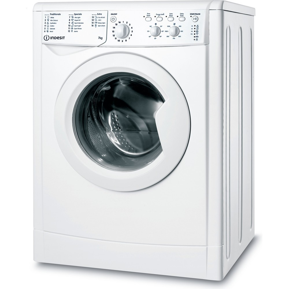 Indesit IWC71252WUKN 7kg 1200rpm Washing Machine