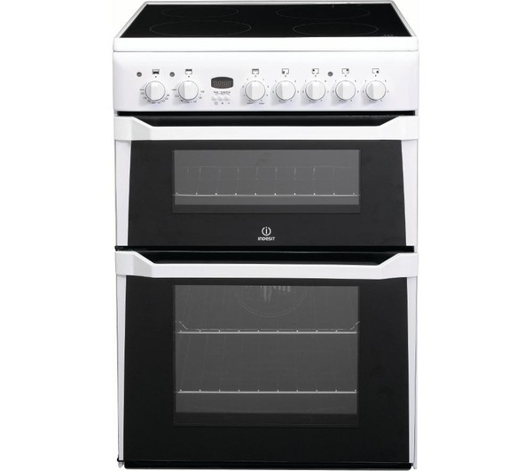 Indesit ID60C2WS Electric Cooker