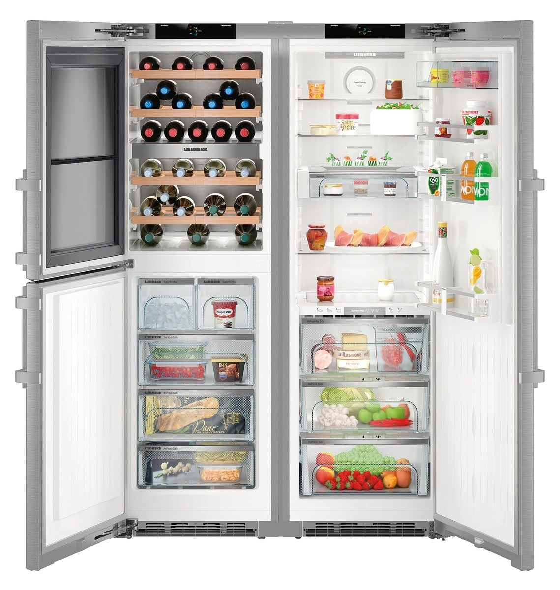 Liebherr SBSES8486 Fridge Freezer