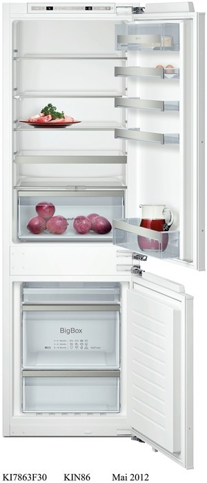 NEFF KI7863D30G Fridge Freezer