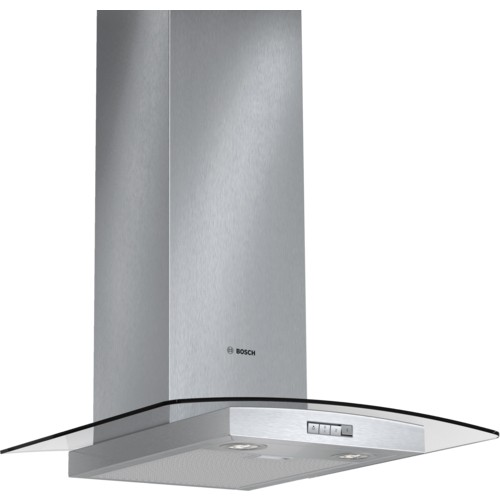 Bosch DWA064W51B Chimney Extractor Hood with Glass