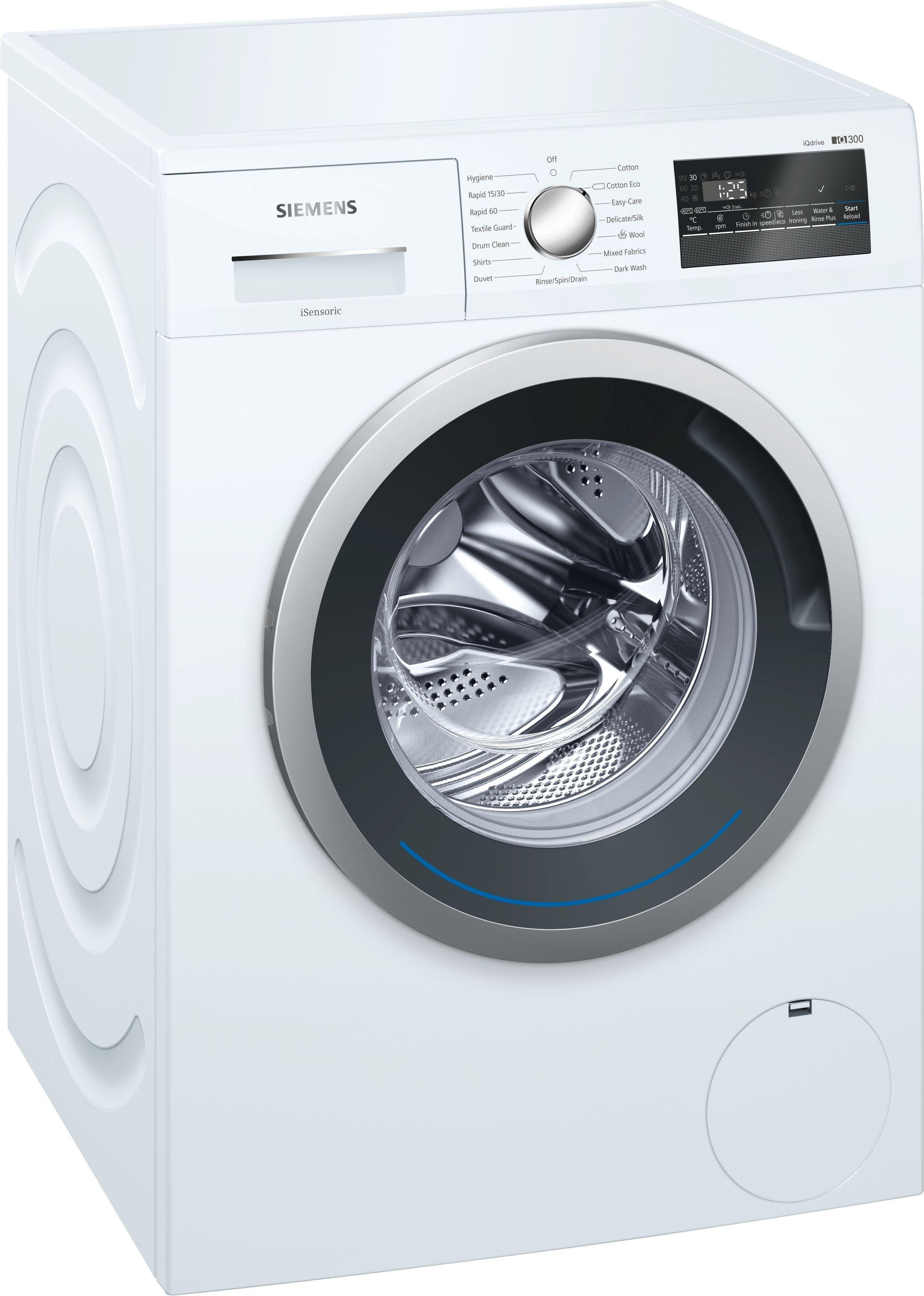 Siemens WM12N201GB 8kg 1200rpm Washing Machine 5 Year Guarantee