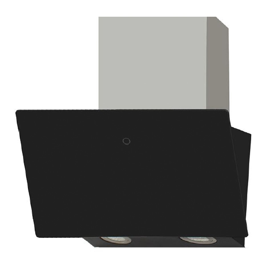 Montpellier DCH5360BG Chimney Hood with Glass