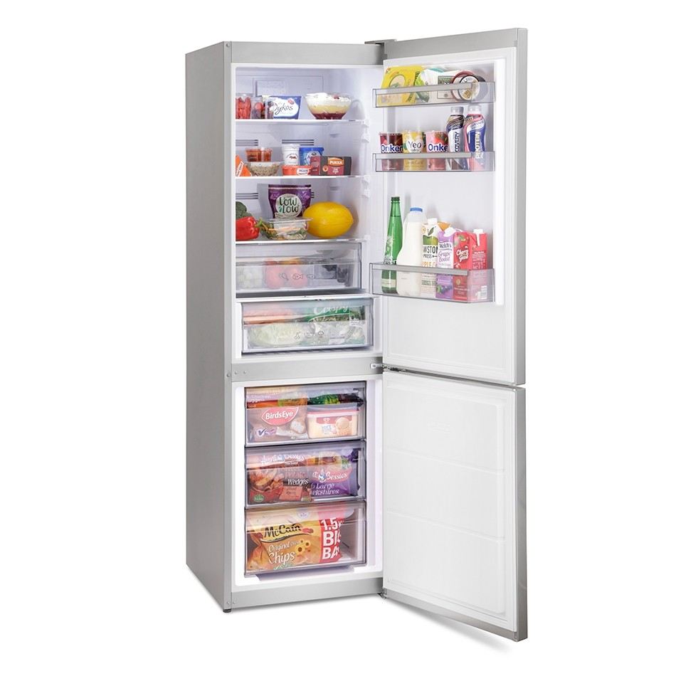 Montpellier MFF186ALX Fridge Freezer