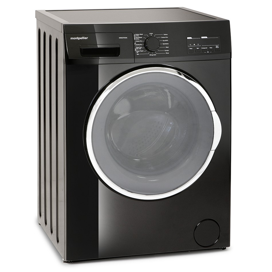 Montpellier MWD7512K 7kg/5kg 1200rpm Washer-Dryer