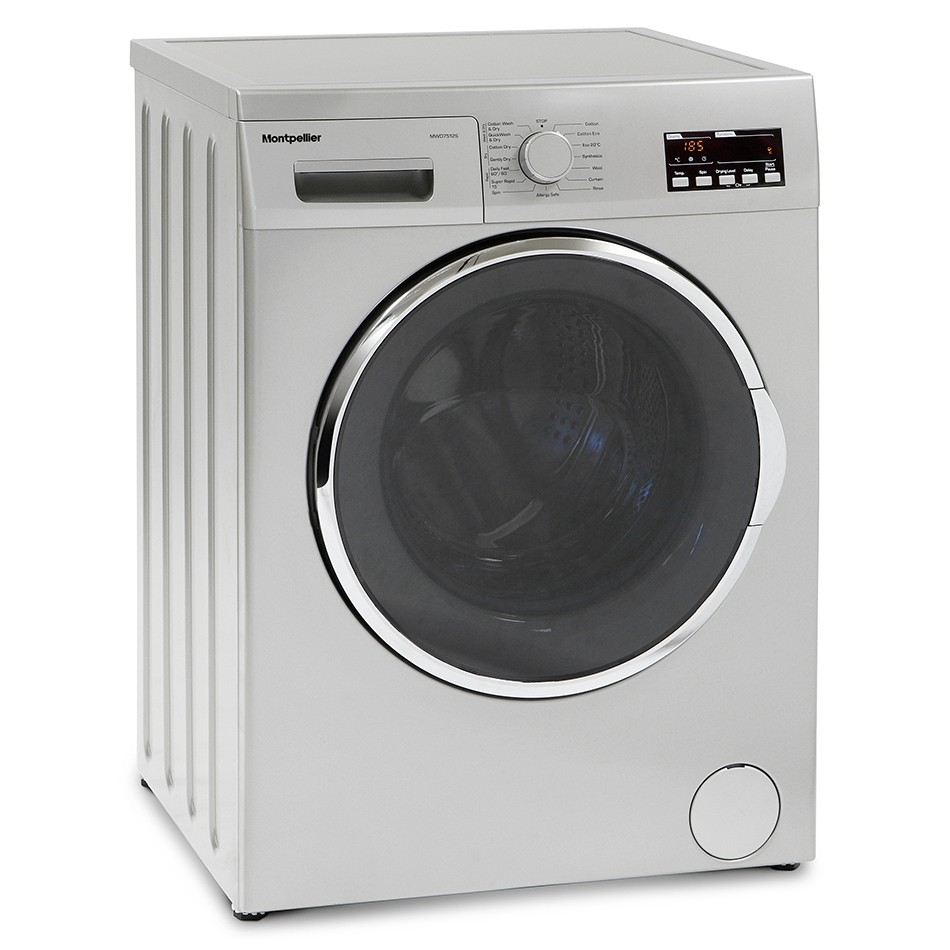 Montpellier MWD7512S 7kg/5kg 1200rpm Washer-Dryer