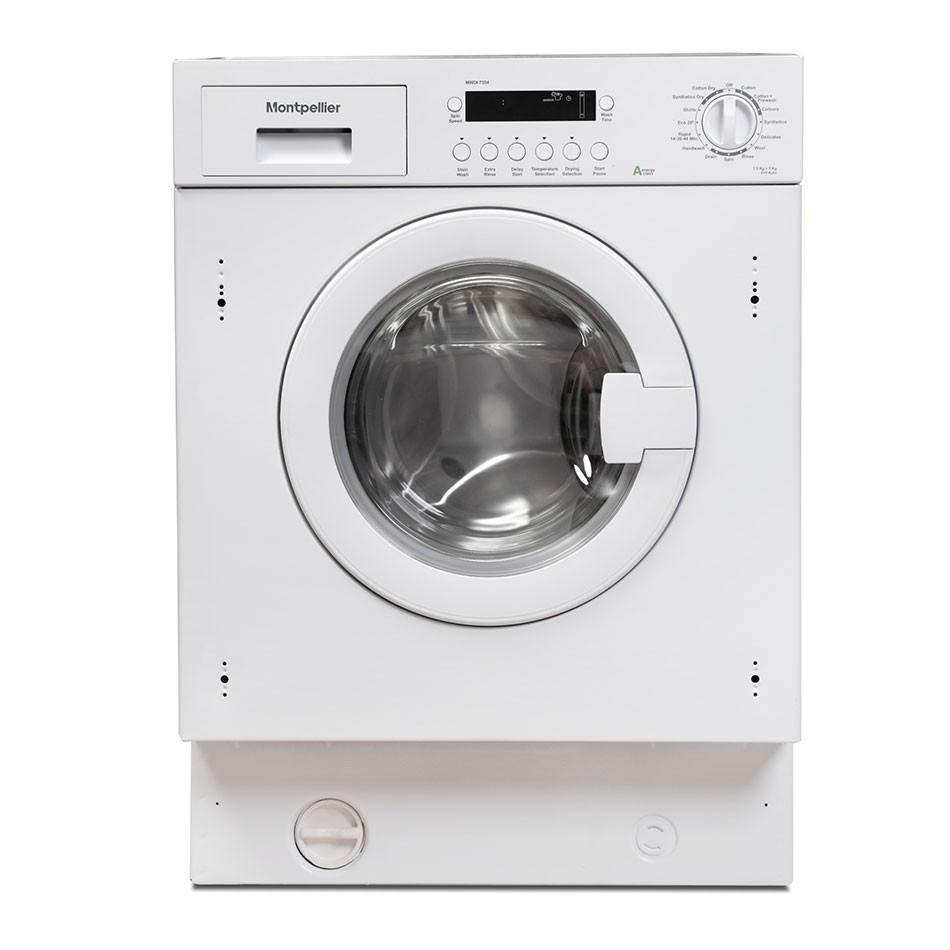 Montpellier MWDI7554 7.5kg/5kg 1400rpm Washer-Dryer