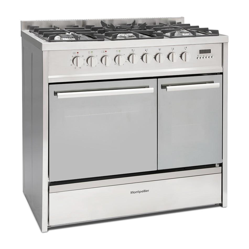 Montpellier MRT91DFMX Range Cooker
