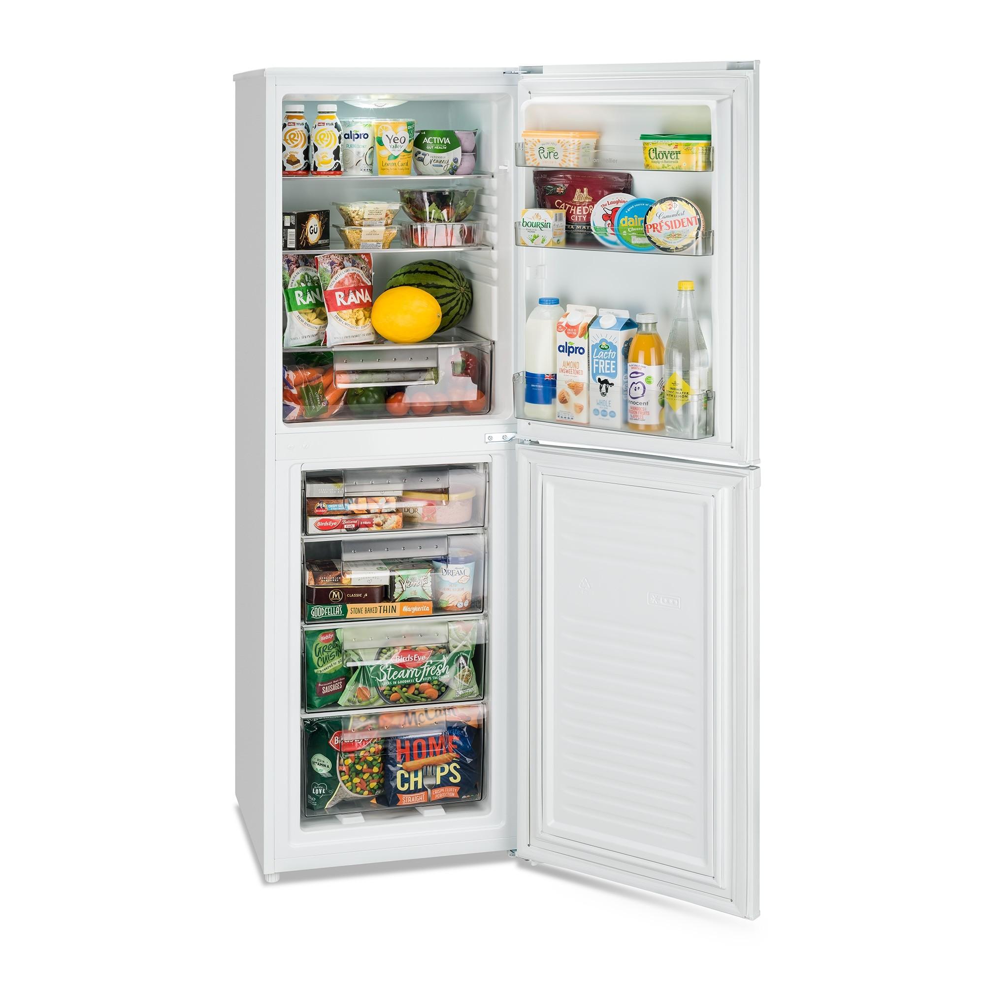 Montpellier MS175W Fridge Freezer