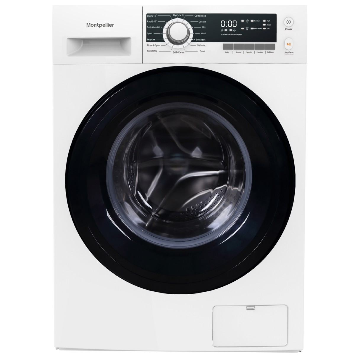 Montpellier MW1040P 10kg 1400rpm Washing Machine