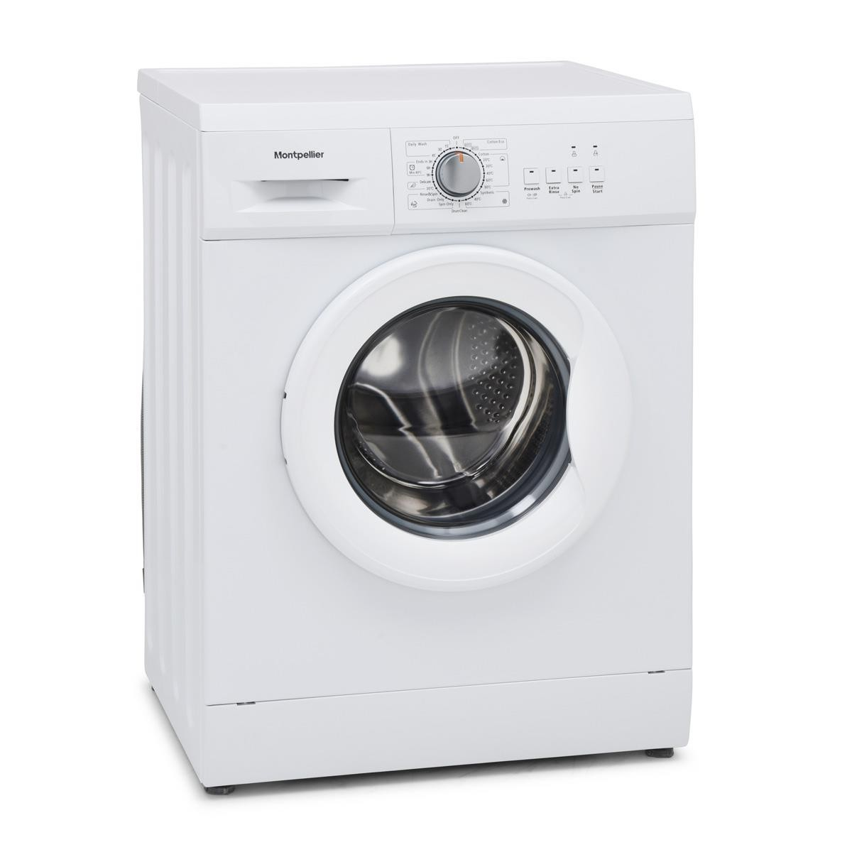 Montpellier MW6101W 6kg 1000rpm Washing Machine