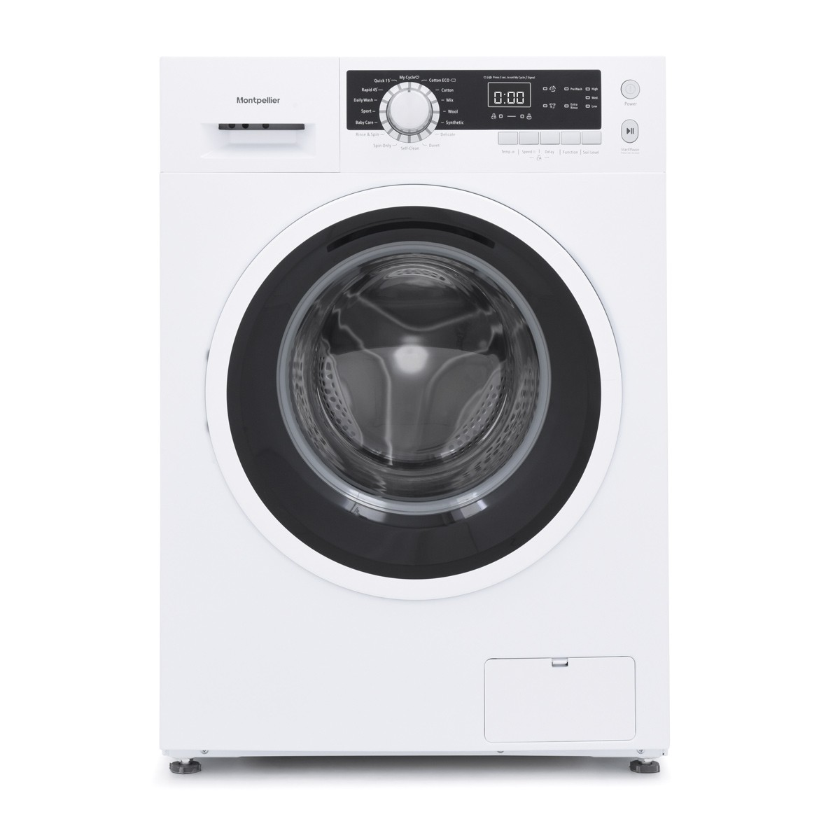 Montpellier MW8140P 8kg 1400rpm Washing Machine