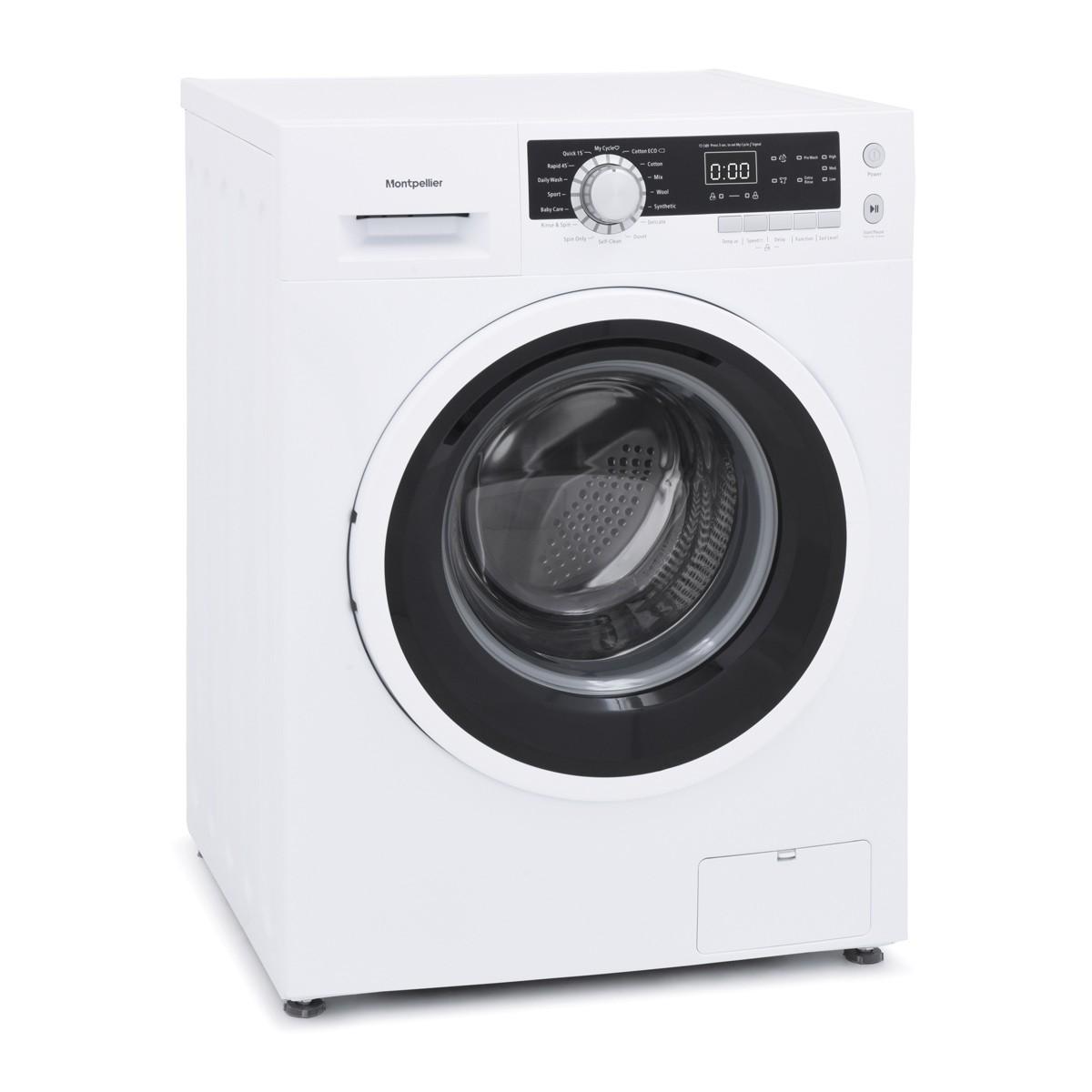 Montpellier MW9140P 9kg 1400rpm Washing Machine