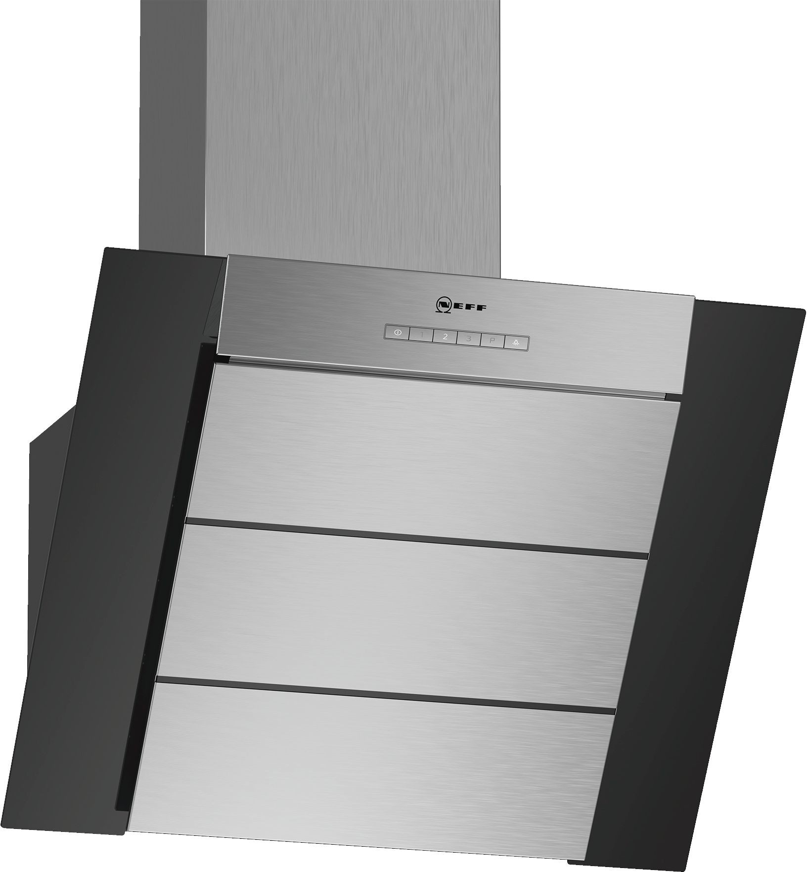 NEFF D65IBE1S0B Chimney Hood with Glass