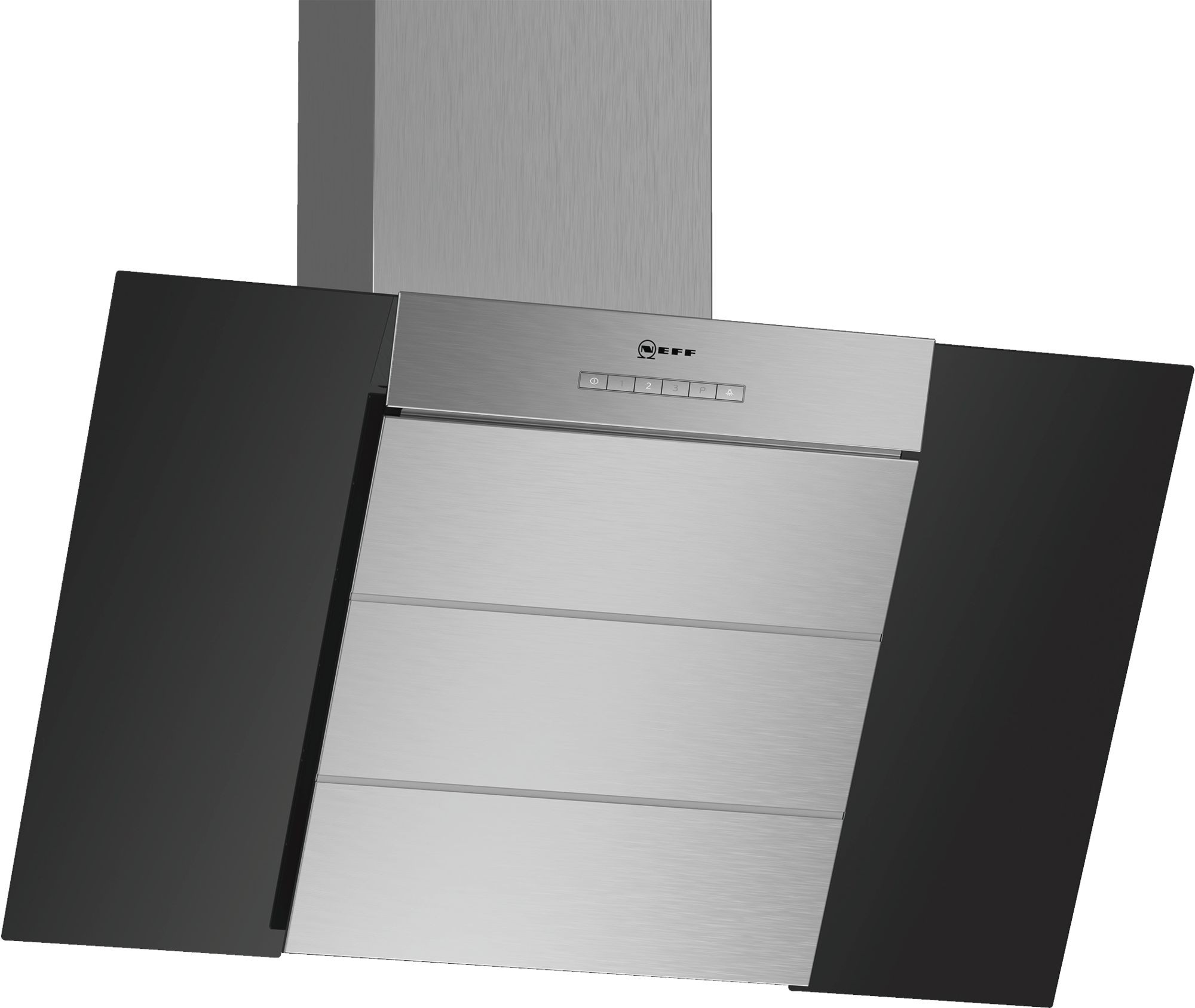 NEFF D85IBE1S0B Chimney Hood with Glass