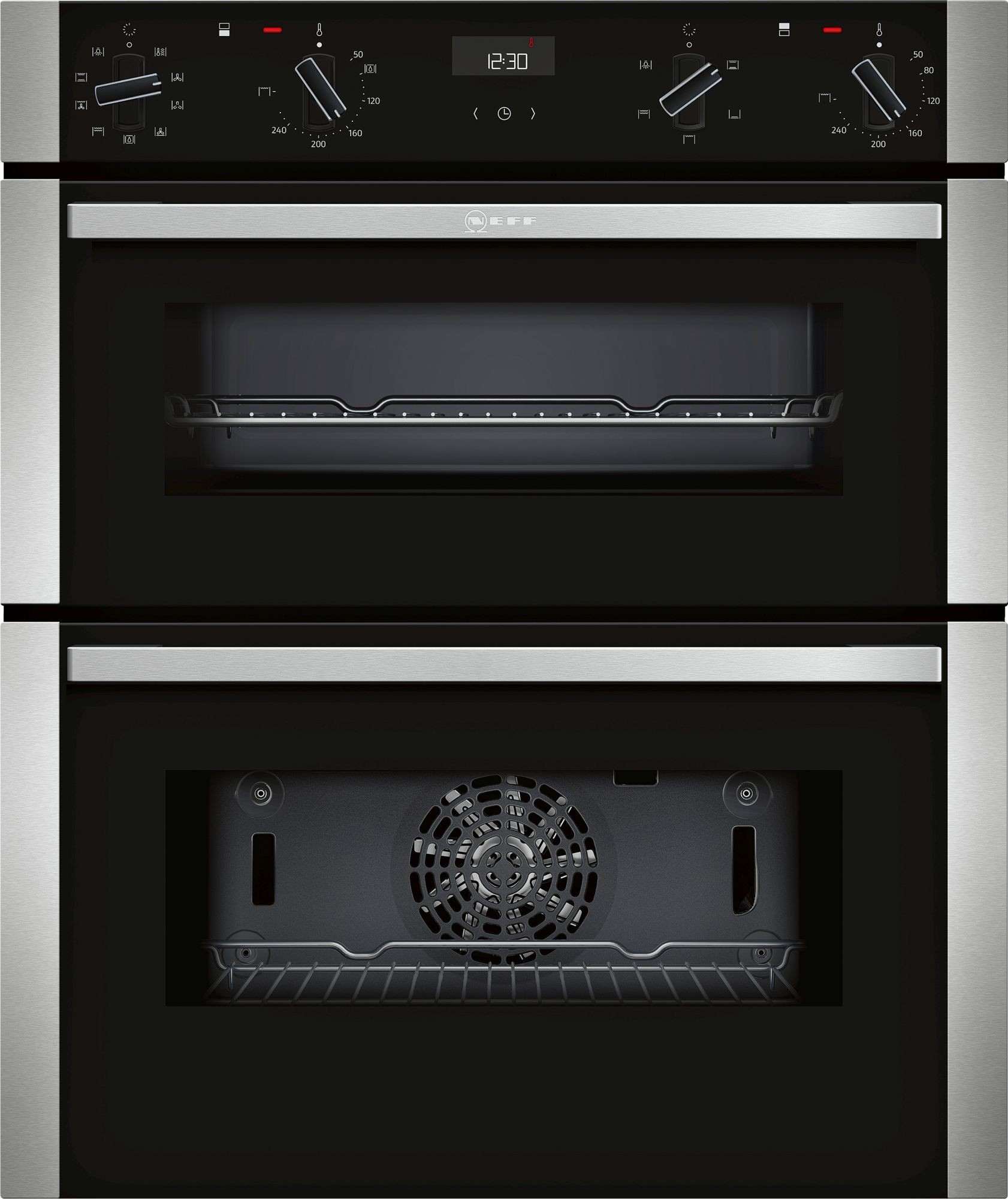 NEFF J1ACE2HN0B Double Oven