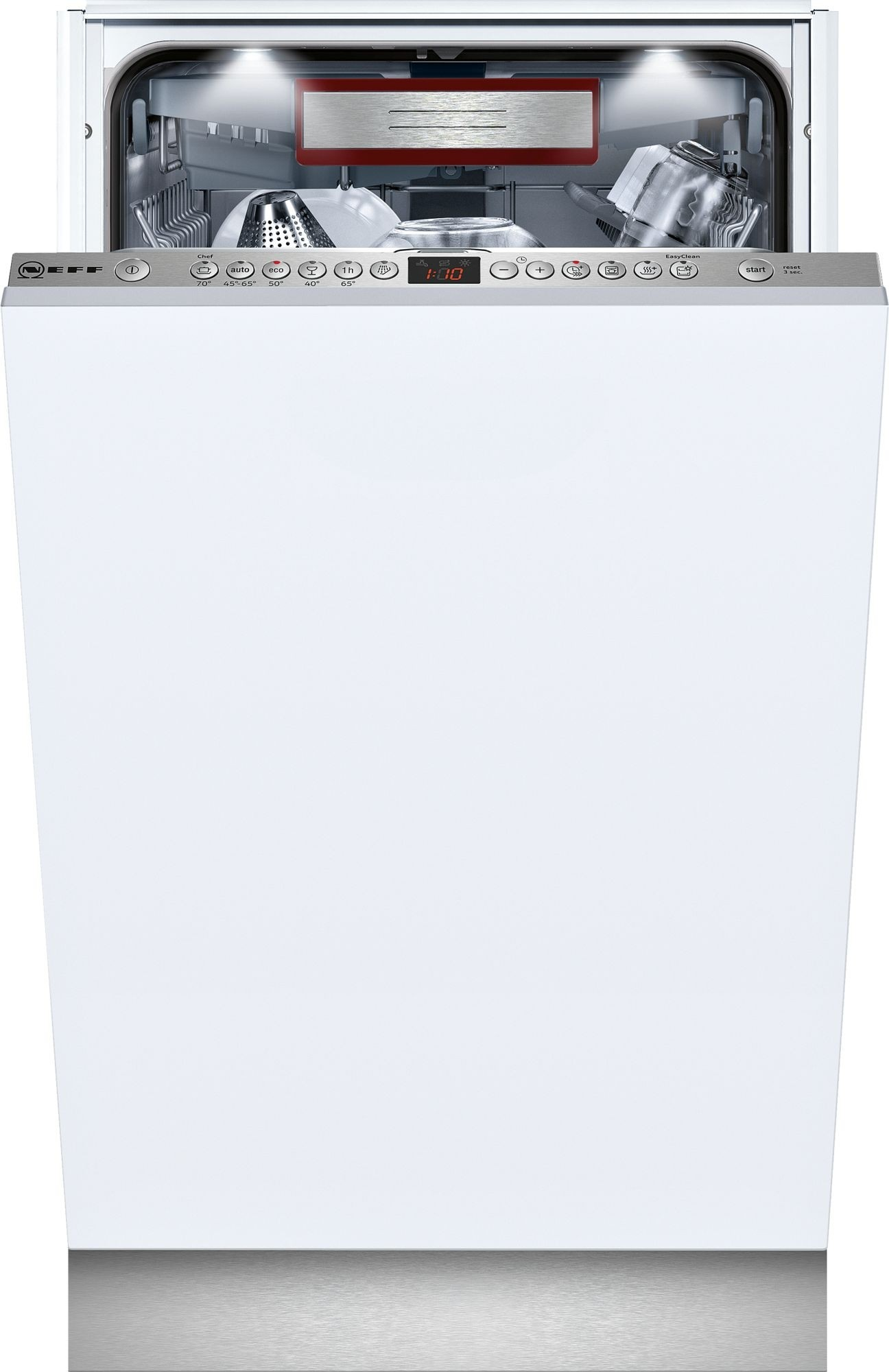 NEFF S586T60D0G Slim Line Dishwasher