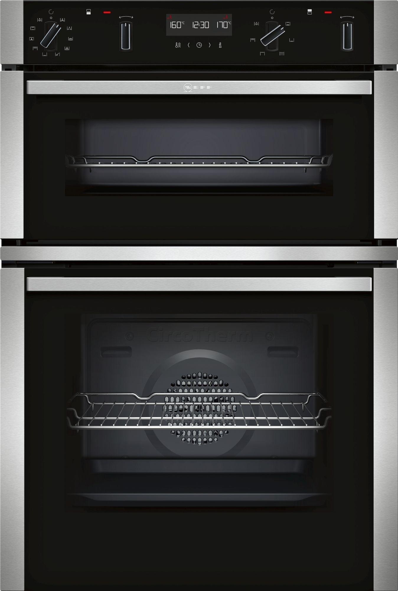 NEFF U2ACM7HN0B Double Oven