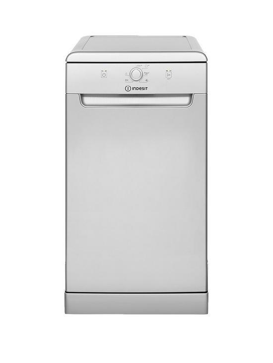 Indesit DSFE1B10S Slim Line Dishwasher