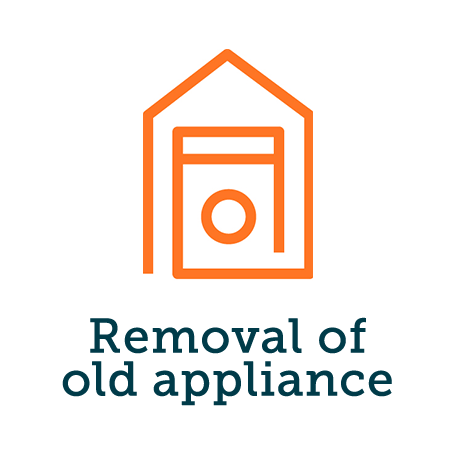 Removal of old appliance - non refrigeration