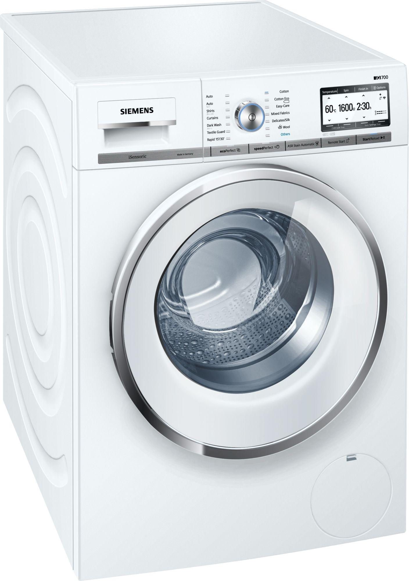 Siemens WMH6Y790GB 9kg 1600rpm Washing Machine
