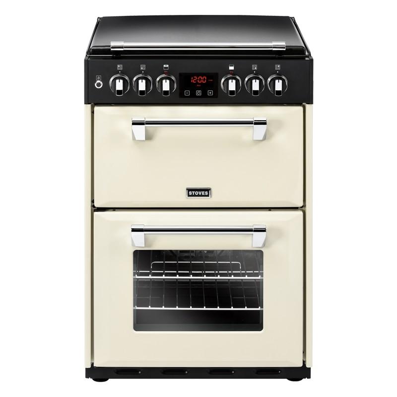 Stoves Richmond 600G 60cm Dual Fuel Range Cooker Cream