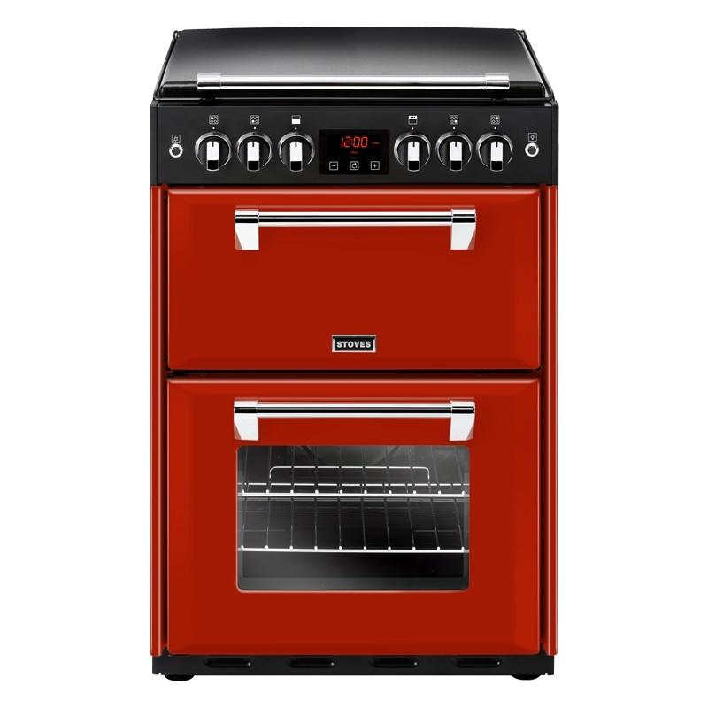 Stoves Richmond 600G 60cm Gas Range Cooker Red