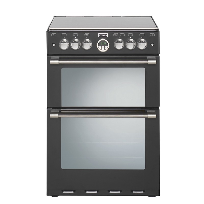 Stoves Sterling 600G 60cm Gas Range Cooker Black