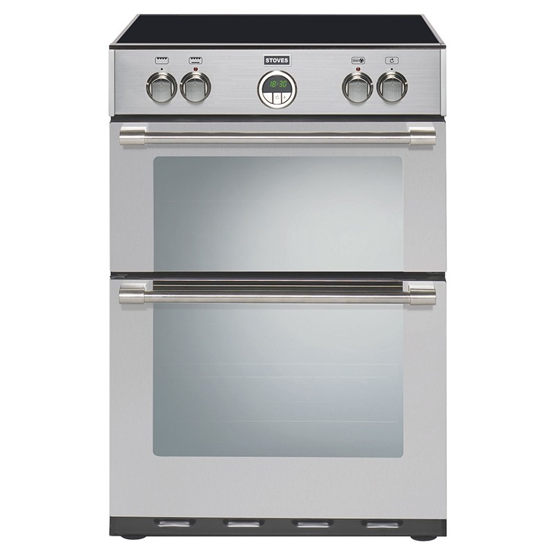 Stoves Sterling 600MFTI 60cm Induction Range Cooker Stainless Steel