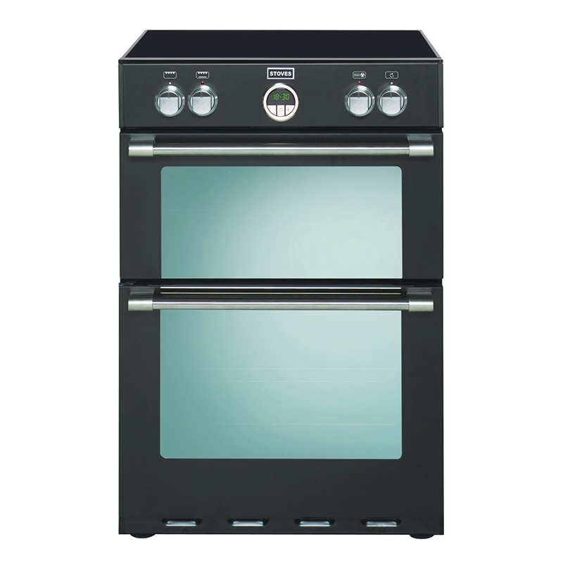 Stoves Sterling 600MFTI 60cm Induction Range Cooker Black