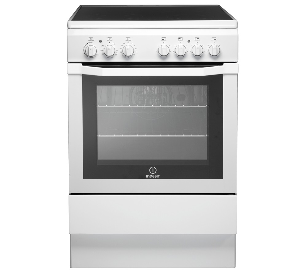 Indesit I6VV2AW Electric Cooker