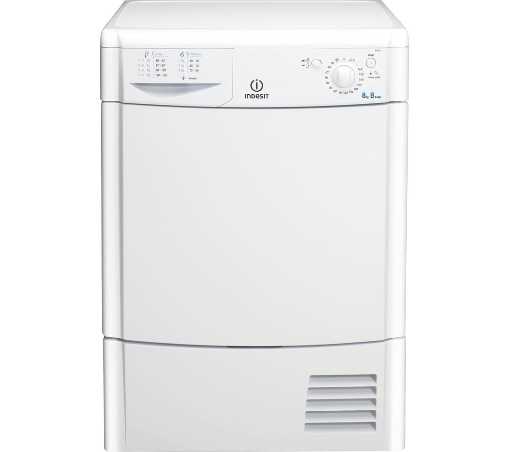 Indesit IDC8T3B 8kg Tumble Dryer