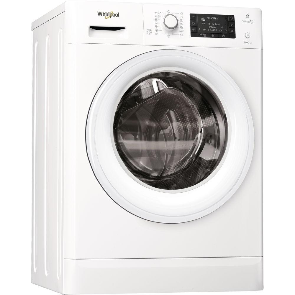 Whirlpool FWDD1071681W 10kg/7kg 1600rpm Washer-Dryer