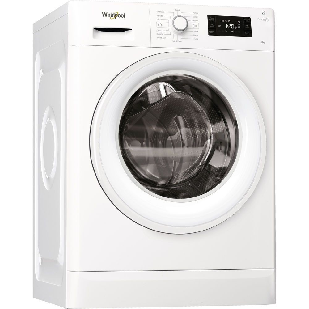 Whirlpool FWG81496W 8kg 1400rpm Washing Machine