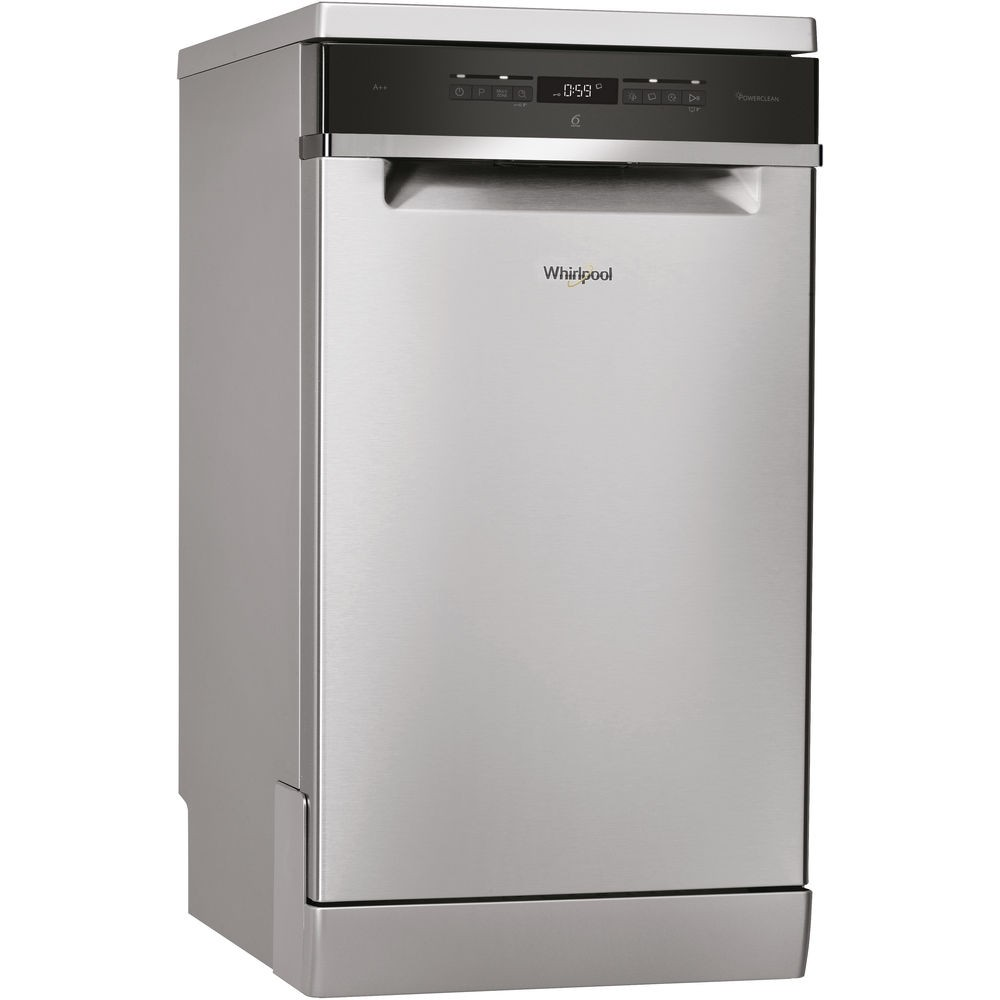 Whirlpool WSFO3T223PCX Slim Line Dishwasher