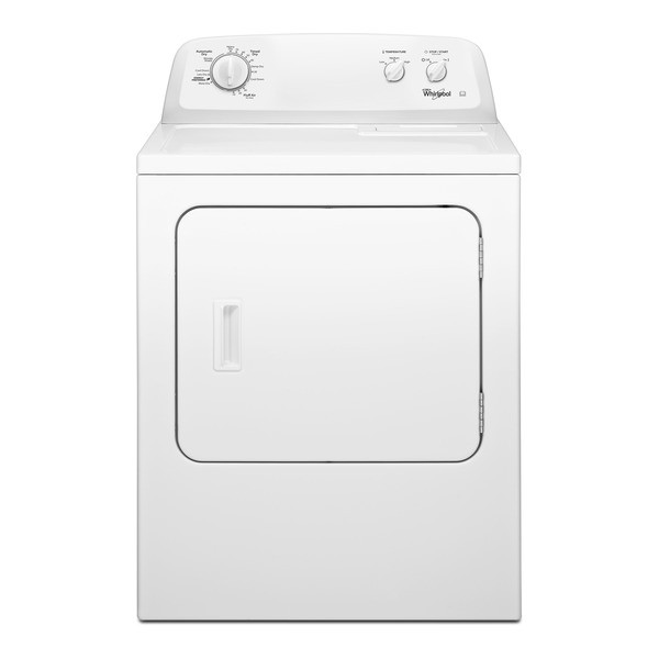 Whirlpool 3LWED4705FW Commercial American Style Classic Front Loading Dryer